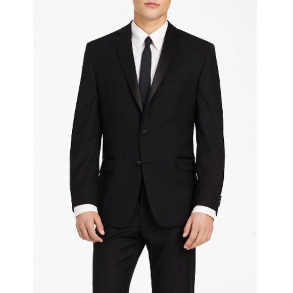 Calvin Klein Other - Calvin Klein Black Slim Fit Tuxedo Jacket NWT